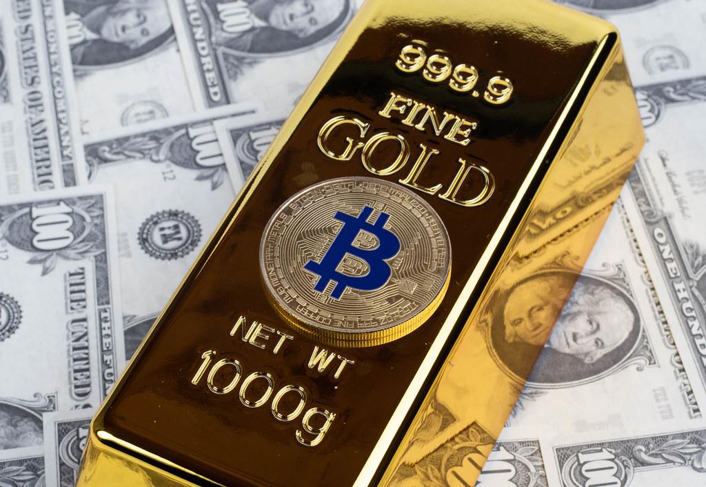 Le bitcoin surpasse facilement l'or cette année