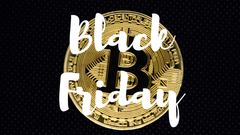 Le Bitcoin Black Friday est de retour !